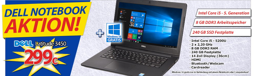 Dell Notebook Aktion!