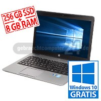 HP Elitebook 840 - 8 GB - SSD - B-Ware