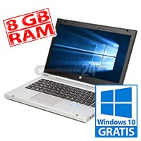 HP EliteBook 8470p - 8 GB