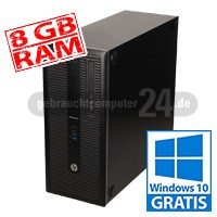 HP EliteDesk 800 G1 - 8 GB - SSD