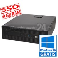 HP EliteDesk 800 G2 - SSD - 8 GB