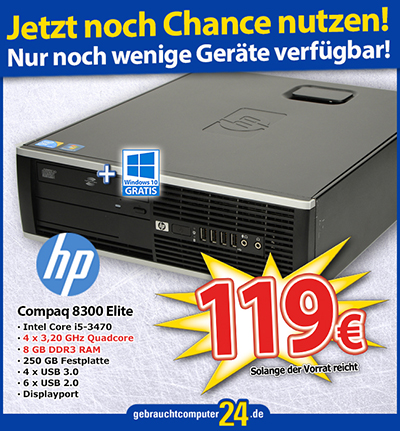 HP Compaq Elite 8300 SFF